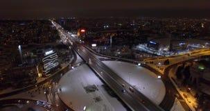 Rondo i autostrada zdjęcie wideo
