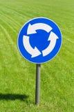 rondo znak drogowy Obrazy Stock