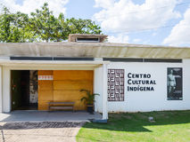 Rondon memorável e Centro de Memoria Indigena Fotos de Stock Royalty Free