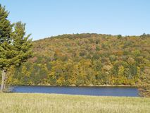 Rondout Reservoir During The Fall Stock Images