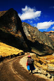 Rondoy Valley in Cordiliera Huayhuash Royalty Free Stock Images