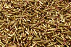 Ronds 7 de fusil 62x39mm Photos libres de droits