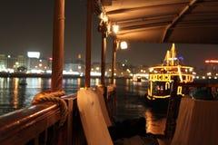 Rondvaart in Doubai Stock Foto's
