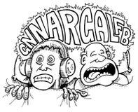 Ronflement Illustration Libre de Droits