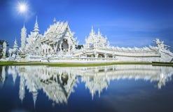 Rong Khun Tempel Lizenzfreie Stockfotos