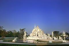 Rong Khun tempel Arkivfoto