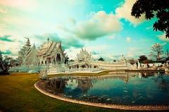 Rong Khun tempel Royaltyfria Bilder