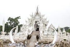 Rong Khun temple, Chiang Rai province, northern Thailand. Royalty Free Stock Image