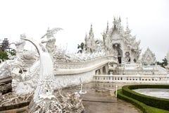 Rong Khun temple, Chiang Rai province, northern Thailand. Royalty Free Stock Photo