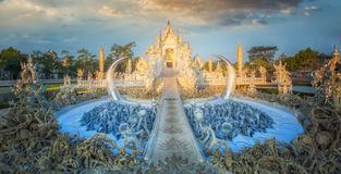 Rong Khun temple Royalty Free Stock Photography