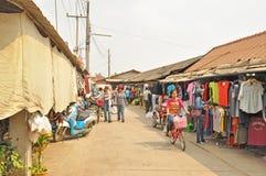 Rong Kluea market. SAKAEO, THAILAND - FEBRUARY 14 : People in Rong Kluea market on February 14, 2014 in Sakaeo, Thailand. Rong Kluea market  is renowned for Stock Photos