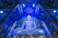 Rong Suea zehn Tempel oder Wat Rong Sua Ten lizenzfreies stockfoto