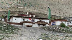 Rongbuk monastery Royalty Free Stock Image