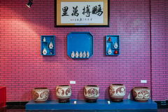 An Rongchang Chongqing Rongchang pottery pottery museum exhibition Stock Image