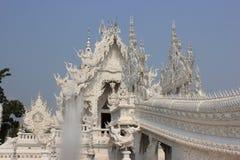 Rongkhuntempel (Witte Tempel) in Chiangrai, Thail Royalty-vrije Stock Foto's
