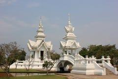 Rongkhuntempel (Witte Tempel) in Chiangrai, Thail Royalty-vrije Stock Fotografie