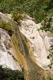Ronies waterfalls, Lefkada. The Ronies waterfalls on the Greek island of Lefkada Royalty Free Stock Photo
