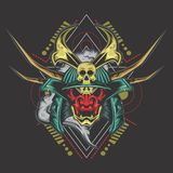 Ultimate ronin head stock illustration