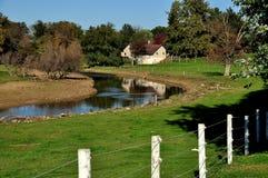 Ronks, PA: Amish Farm Landscape Royalty Free Stock Photo