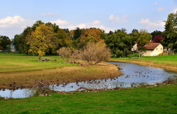 Ronks, Pennsylvania: Scenic Landscape Royalty Free Stock Photos