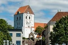 Ronneby-Kirche stockbilder