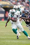 Ronnie Brown Miami Dolphins immagine stock