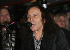 Ronnie James Dio fotografie stock libere da diritti