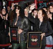 Ronnie James Dio i cięcie Obraz Royalty Free
