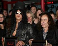 Ronnie James Dio und Hieb Stockbild
