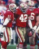 Ronnie Lott Stock Images