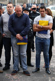 Ronnie O'Sullivan e Stuart Bingham Immagini Stock