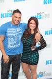 Ronnie Ortiz-Magro, Deena Cortese arrives at the  Royalty Free Stock Photos