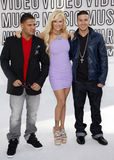 Ronnie Ortiz-Magro, Jenna Jameson and Vinny Guadagnino Stock Photos