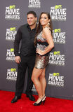 Ronnie Ortiz-Magro and Sammi Giancola Stock Photo