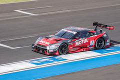 Ronnie Quintarelli of NISMO in Super GT Final Race 66 Laps at 20 Stock Image
