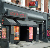 Ronnie Scott s jazz club Frith St Soho London Stock Photos