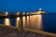 Ronoake Sound, Roanoke Lighthouse, Outer Banks, NC Stock Photography