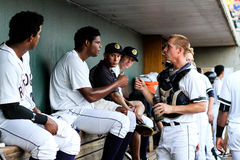 Rony Bautista i Colin Slaybaugh, Charleston RiverDogs Zdjęcie Stock