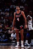 Rony Seikaly, il Miami Heat Fotografie Stock Libere da Diritti