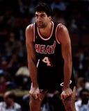 Rony Seikaly, los Miami Heat Fotografía de archivo