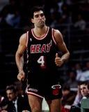 Rony Seikaly, Miami Heat Στοκ φωτογραφίες με δικαίωμα ελεύθερης χρήσης