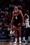 Rony Seikaly, Miami Heat Lizenzfreie Stockfotos