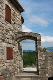 Ronzio, la più piccola città Immagini Stock