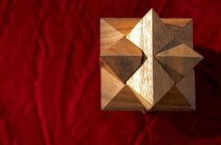 Rood 2 van het raadsel Stock Afbeelding