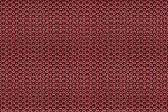 Rood aan zwarte patroonachtergrond met pentagonen Royalty-vrije Stock Afbeeldingen