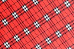 Rood Abstract patroon als achtergrond Stock Afbeeldingen