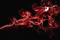 Rood abstract rookontwerp Royalty-vrije Stock Afbeeldingen