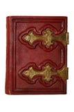 Rood antiek boek royalty-vrije stock foto's