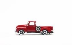 Rood auto modeljong geitje Stock Afbeeldingen