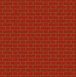 Rood bakstenen muur naadloos patroon Royalty-vrije Stock Foto